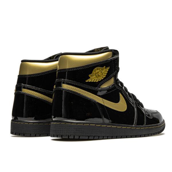 Air Jordan 1 Retro High Black Metallic Gold