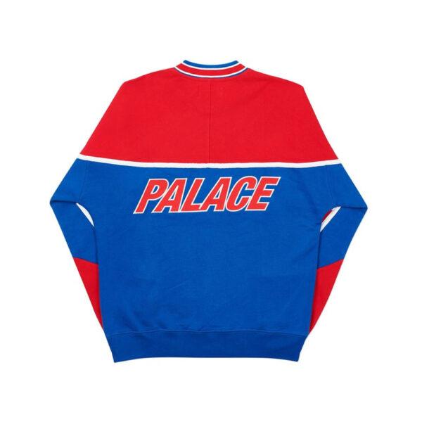 Palace Hoodie Palazzo Crew Red / Blue