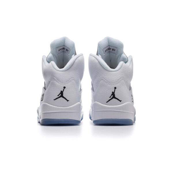 Air Jordan 5 Retro Metallic White 2015