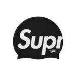 Supreme X Speedo Black Swim Cap