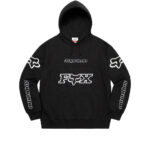 Supreme x Fox Racing Hooded Sweatshirt Black