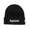 Supreme x New Era Box Logo Beanie Black (FW18)