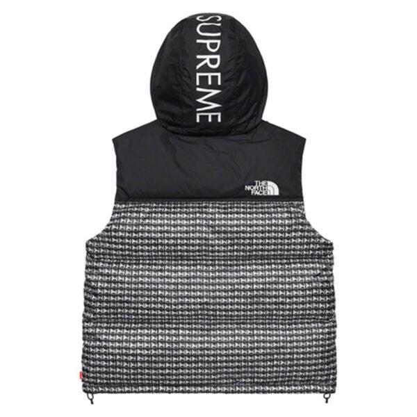 Supreme x The North Face Studded Nuptse Vest Black