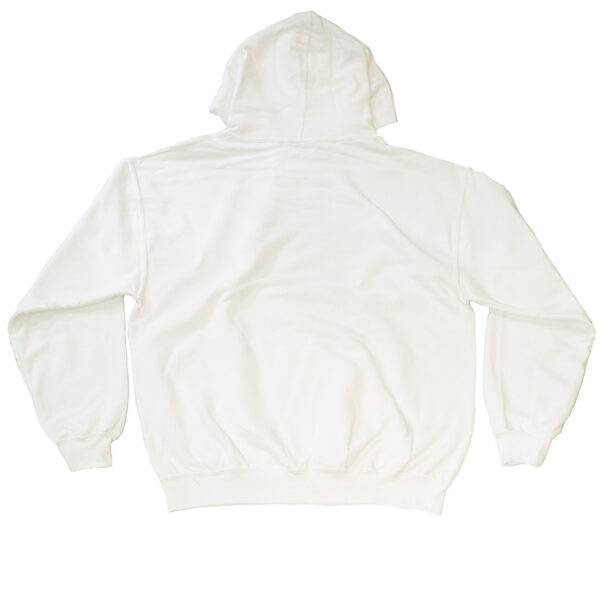 Unity Binary Logo White Hoodie