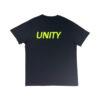 Unity Classic Logo T-Shirt Black and Yellow