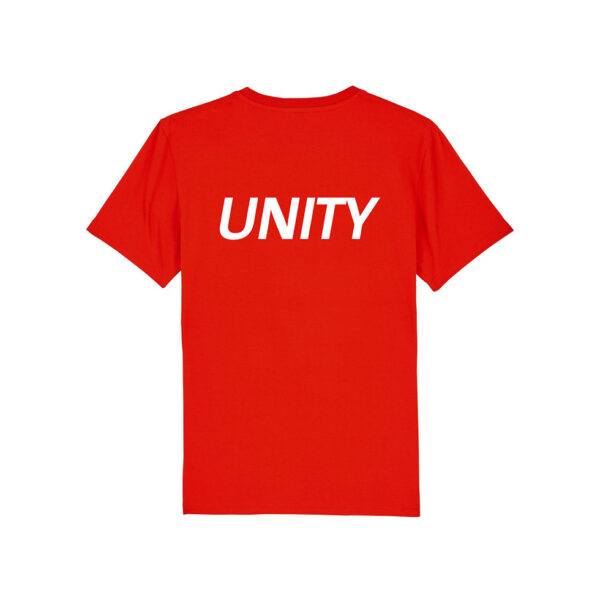 Unity Classic Logo T-Shirt Bright Red