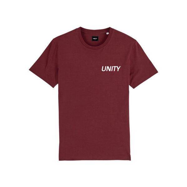 Unity Classic Logo T-Shirt Burgundy