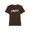 Unity Classic Logo T-Shirt Deep Chocolate