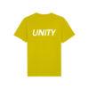 Unity Classic Logo T-Shirt Hay Yellow