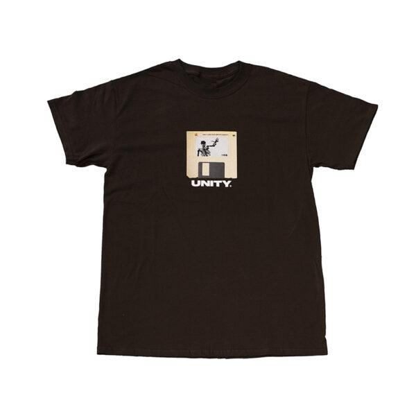 Unity Floppy Escape Brown T-Shirt