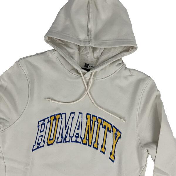 Unity Humanity Beige Hoodie