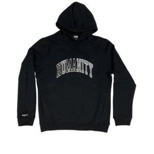 Unity Humanity Black Hoodie