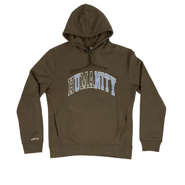 Unity Humanity Brown Hoodie