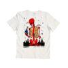 Unity x The Italian Painter White T-Shirt con Ricamo