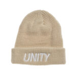 Unity Classic Logo Beige Beanie