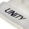 Unity Classic Logo White Beanie