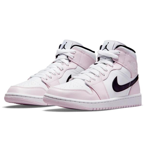 Air Jordan 1 Mid Barely Rose (W)