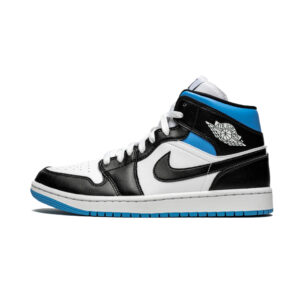 Air Jordan 1 Mid Royal Black and Blue (W)